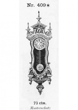 Miniatur-Regulator-Modell-409-1883