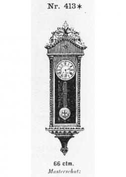 Miniatur-Regulator-Modell-413-1883