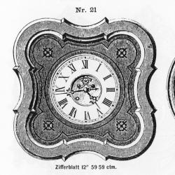 Tafeluhr-Modell-021-1883