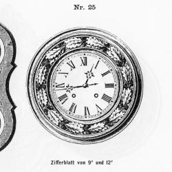Tafeluhr-Modell-025-1883