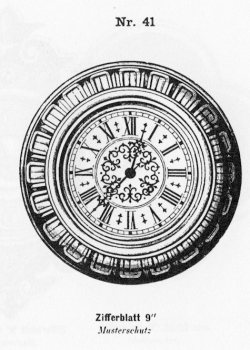 Tafeluhr-Modell-041-1883