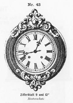 Tafeluhr-Modell-043-1883