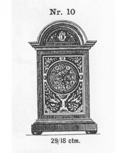 Tischuhr-Modell-010-1883