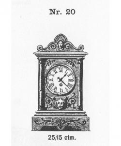 Tischuhr-Modell-020-1883