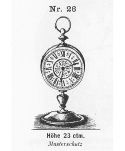 Tischuhr-Modell-026-1883