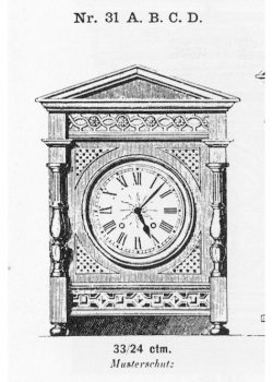 Tischuhr-Modell-031-1883