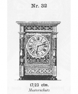 Tischuhr-Modell-032-1883